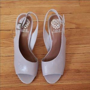 Vince Camuto Grey Heels